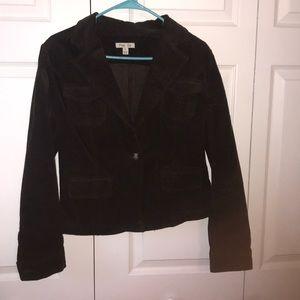 Jackets & Blazers - Chocolate Brown corduroy blazer size S